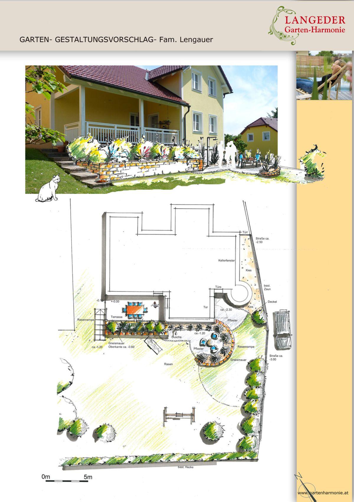 gartenplanung - langeder gartenharmonie, Garten und erstellen